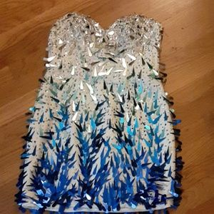Fancy sequin bedazzled dress